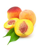 Sweet peaches Stock Photos