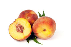 Sweet peaches Stock Images