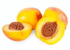 Sweet peaches Stock Photos