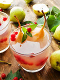 Sweet pear compote Stock Images