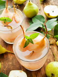 Sweet pear compote Royalty Free Stock Photography