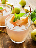 Sweet pear compote Royalty Free Stock Image