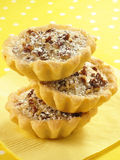 Sweet Pecan Tarts Stock Photography
