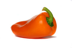 Sweet pepper. S against white background Royalty Free Stock Images