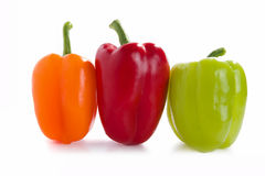 Sweet pepper. Isolated on white background Stock Image
