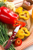 Sweet pepper Stock Photography