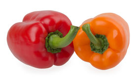 Sweet pepper isolated on white background Stock Photos