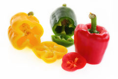 Sweet  pepper mix color. Stock Images