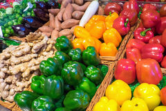 Sweet pepper and other vegetables Stock Photo