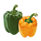 Sweet pepper, paprika Royalty Free Stock Photos