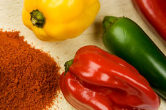 Sweet pepper, paprika Stock Image