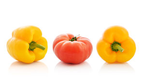 Sweet pepper and tomato Stock Photography