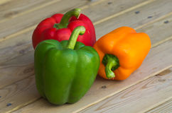 Sweet peppers Royalty Free Stock Photos