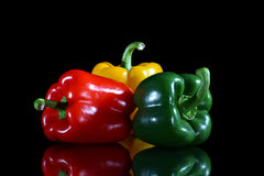 Sweet peppers Stock Image