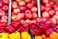 Sweet peppers royalty free stock image