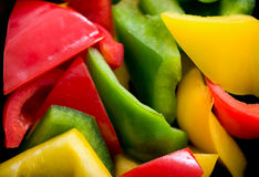 Sweet peppers Stock Photo