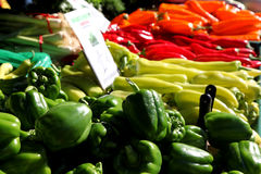 Sweet peppers for all ! Royalty Free Stock Photography