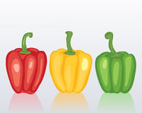 Sweet peppers Royalty Free Stock Photo