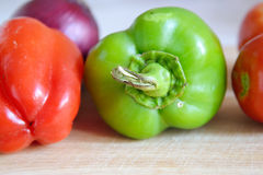 Sweet peppers. Royalty Free Stock Photography