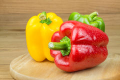 Sweet peppers Stock Photography
