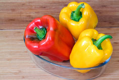 Sweet peppers. Stock Images