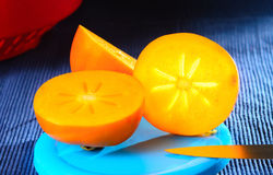 Sweet  persimmon Stock Image