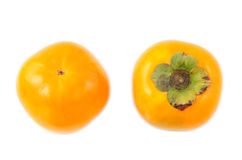 Sweet persimmons Royalty Free Stock Images