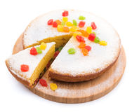 Sweet pie cake with jujube Royalty Free Stock Images
