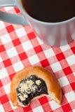 Sweet pie and tea Stock Photo