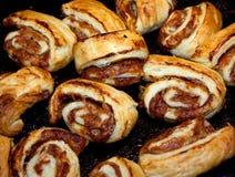 Sweet pies stock photo