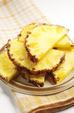 Sweet pineapple slices Royalty Free Stock Photos