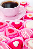 Sweet pink arrangement Royalty Free Stock Images