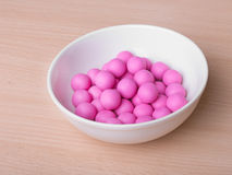 Sweet pink candy Stock Image