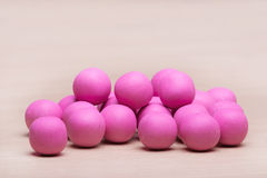 Sweet pink candy Stock Images