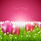 Sweet pink Easter background Royalty Free Stock Photography