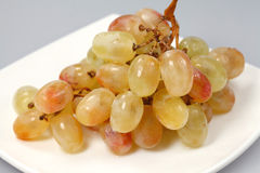 Sweet pink grapes Stock Photo