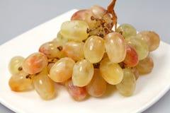 Sweet pink grape Stock Photo