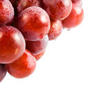 Sweet pink grapes Royalty Free Stock Photos