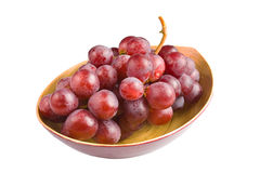 Sweet pink grapes Royalty Free Stock Photography