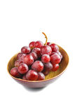 Sweet pink grapes Royalty Free Stock Image