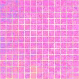 Sweet pink marble floor tiles seamless pattern Stock Images