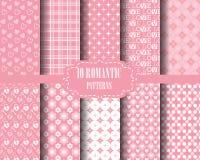 Sweet pink patterns Royalty Free Stock Image