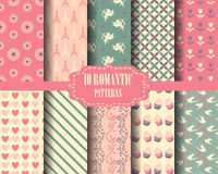 Sweet pink patterns Stock Photography