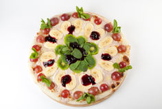 Sweet Pizza Stock Photography