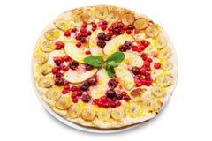 Sweet pizza Stock Photo