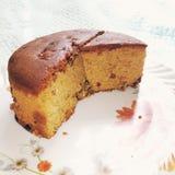 Sweet Plum cake royalty free stock image