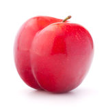Sweet plum isolated on white background cutout Royalty Free Stock Photo