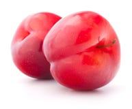 Sweet plum isolated on white background cutout. Sweet plum isolated on the white background cutout Royalty Free Stock Photo