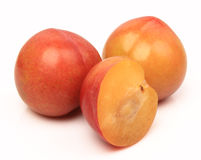 Sweet plum Royalty Free Stock Image