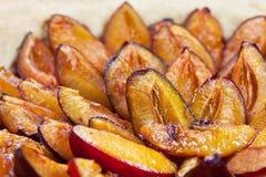 Sweet plum pie Stock Photography